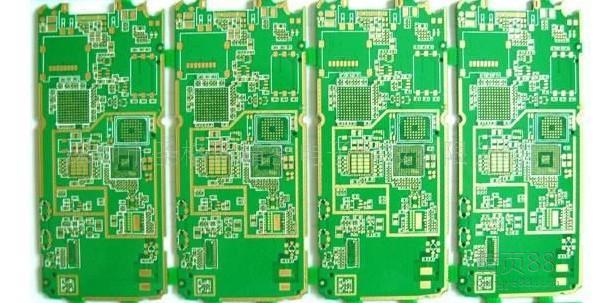 覆铜箔层压板是制作印制电路板的基板材料.